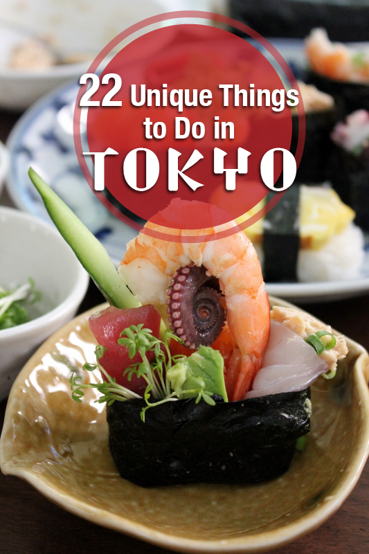 22 Unique Things to do in Tokyo