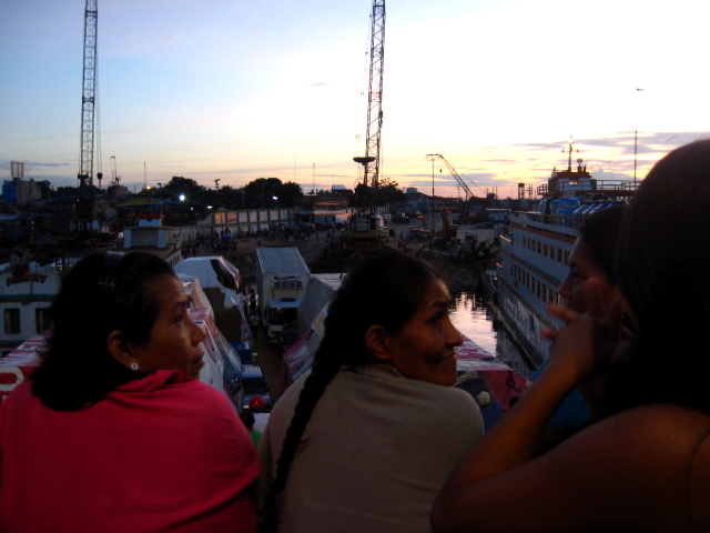 Arriving in Iquitos in the Peruvian Amazon