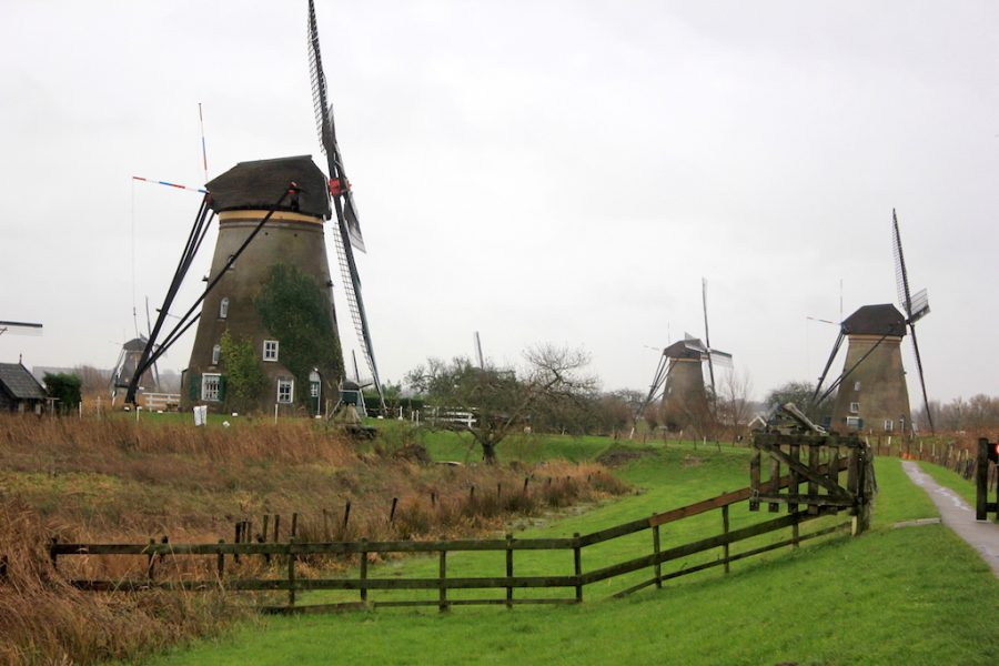 Kinderdijk Windmills in Netherlands