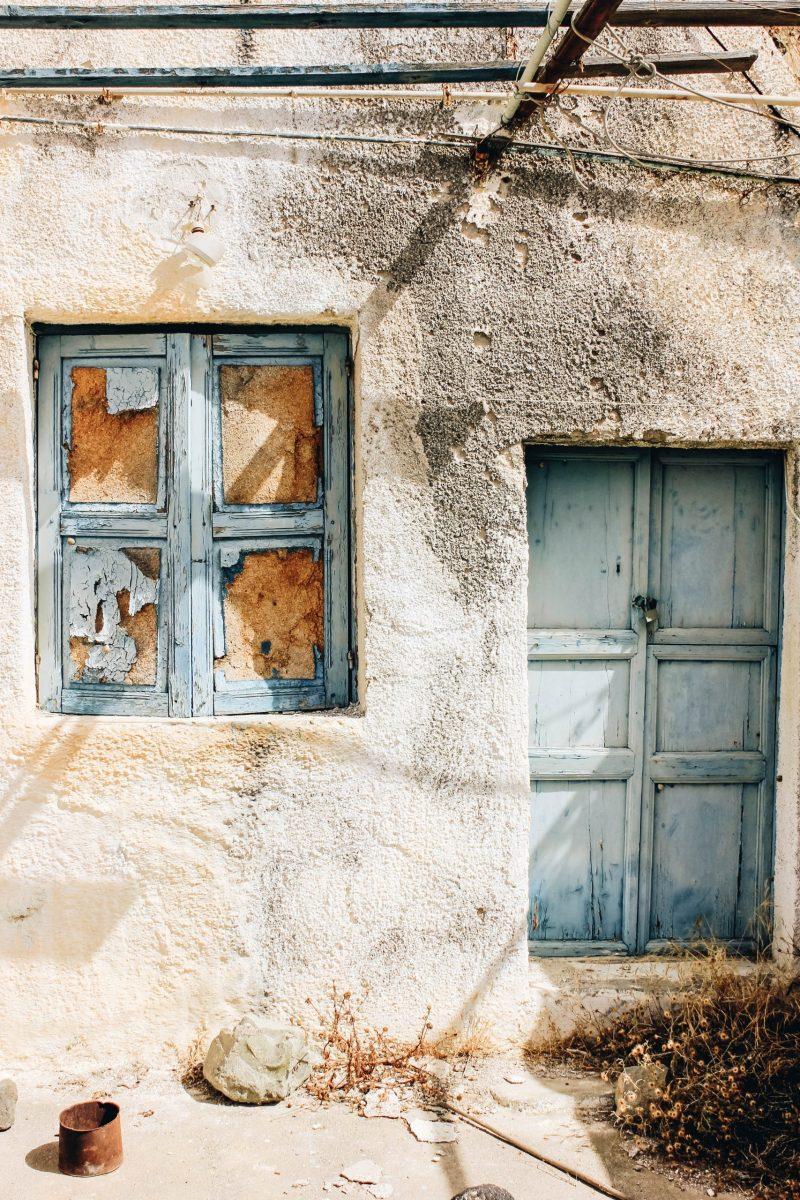 The ancient village of Akrotiri