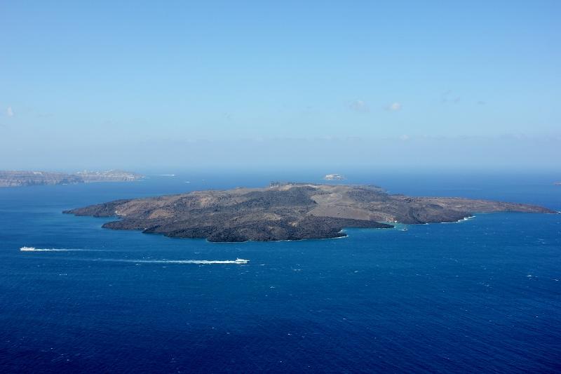 The Caldera in Santorini