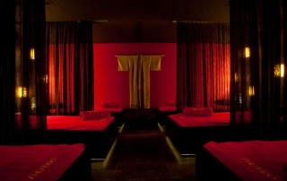 The Zen Room at Stejarii Country Club in Bucharest, Romania