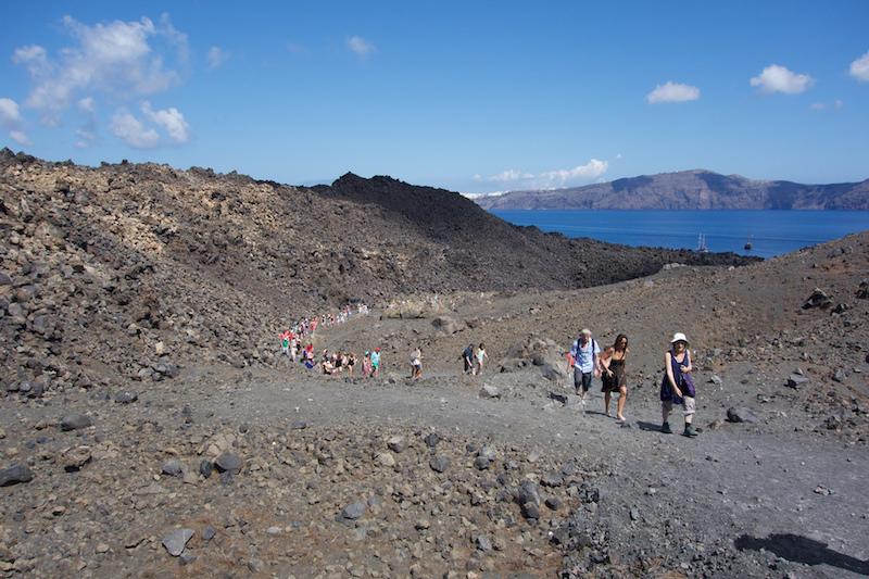 Bucket List: Walk on a Volcano in Santorini