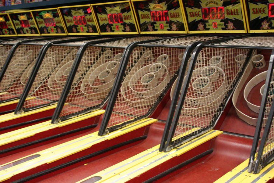 Skeeball Arcade Game