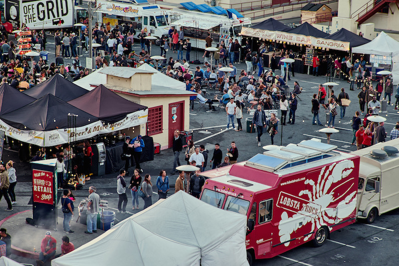 Food Trucks | San Francisco Bucket List: Best Things to Do in the Fun City of SF