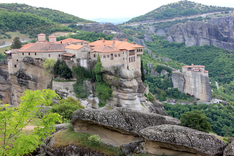 The Meteora Monasteries in central Greece