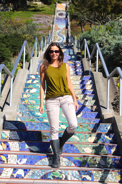 Climb the 16th Avenue Tiled Steps: San Francisco Bucket List: 60 Best Things to Do in the Fun City of SF