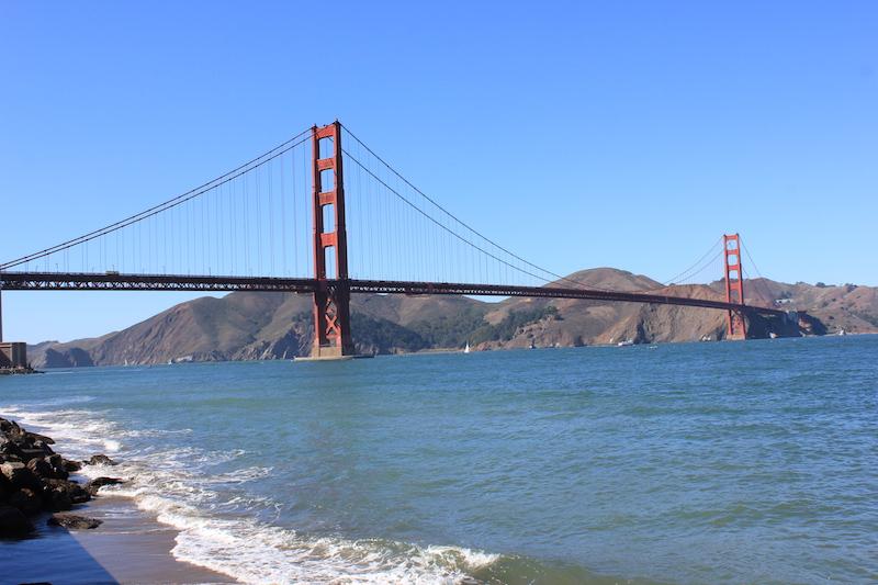 Golden Gate Bridge in San Francisco Callifornia