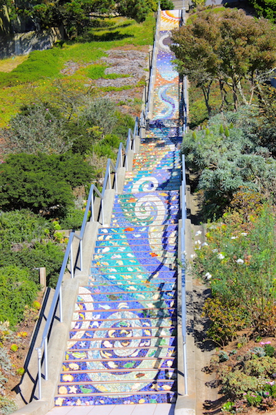 Bucket List: Climb the 16th Avenue Tiled Steps in San Francisco
