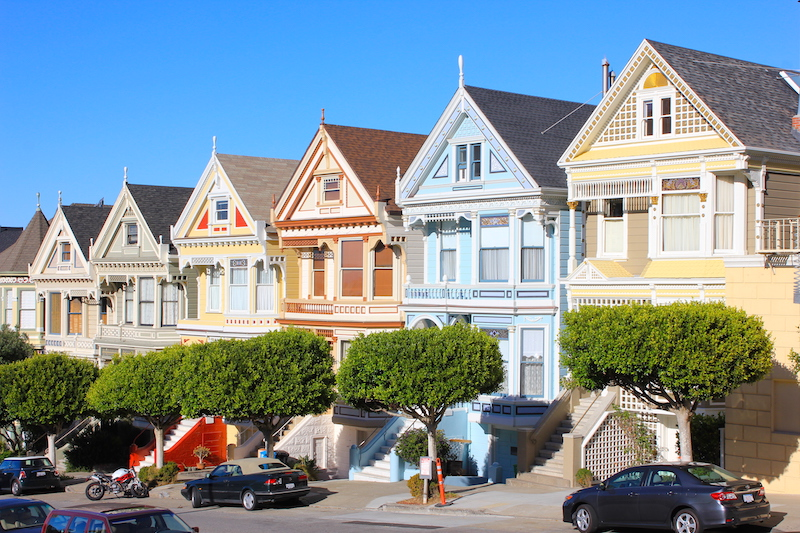 Painted Ladies | San Francisco Bucket List: Best Things to Do in the Fun City of SF
