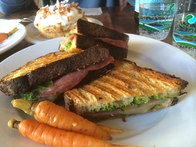 Sourdough Sandwich at Tartine in San Francisco