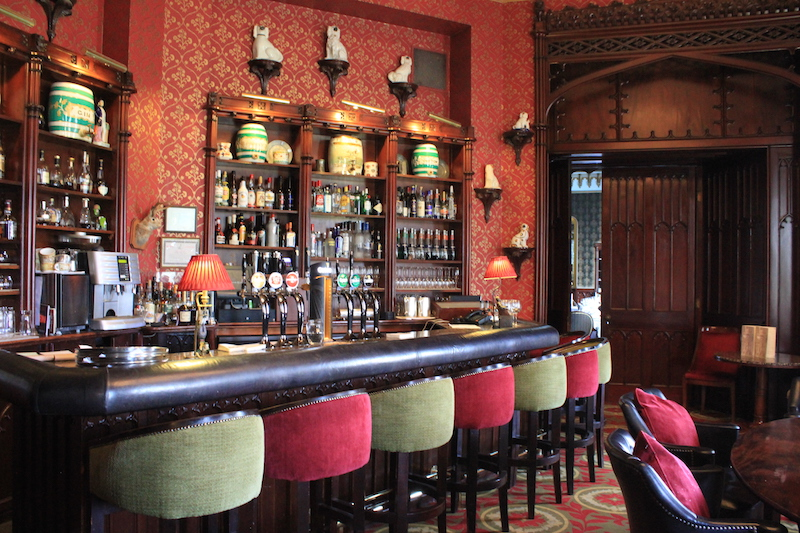 Bar at Dromoland Castle in Ireland