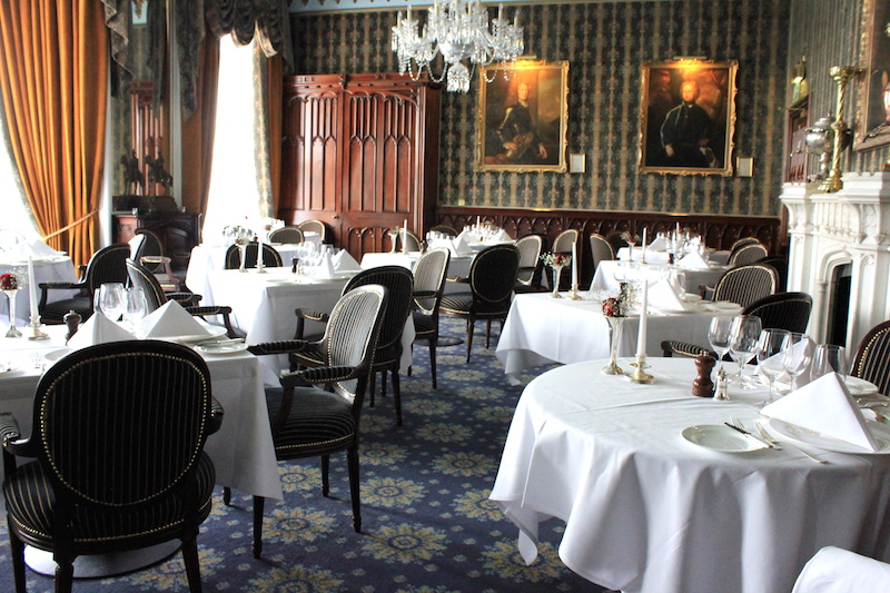 Dining Room at Dromoland Castle Ireland