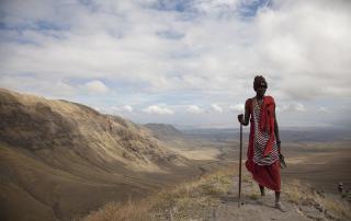 Maasai Trek in Tanzania, Africa