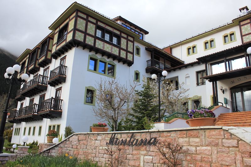 Montana Hotel in Central Greece