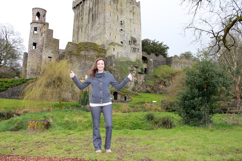 Annette White at the Blarney Castle Ireland
