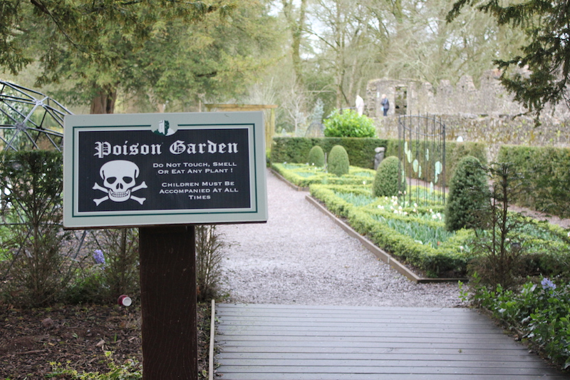 The Poison Garden at Blarney Castle Ireland