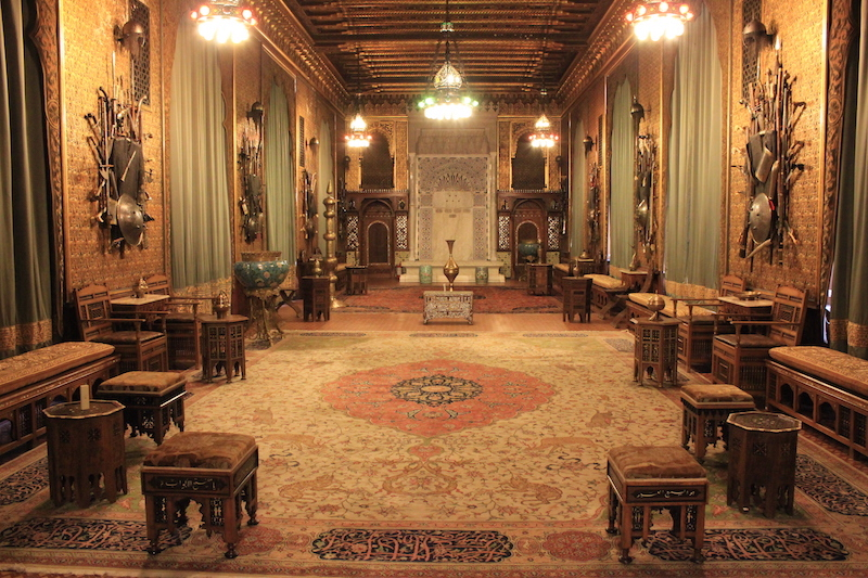 Inside of Peles Castle in Romania