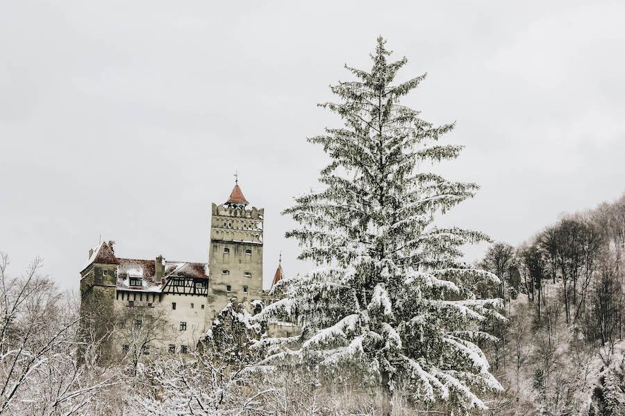 Bran Castle Dracula's Fortress in Transylvania