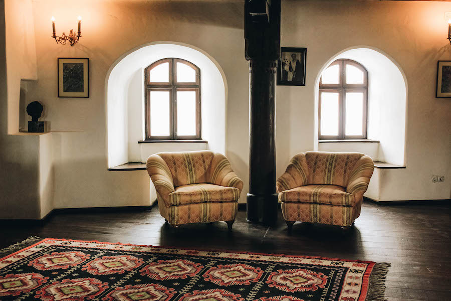 Chairs in Bran Castle