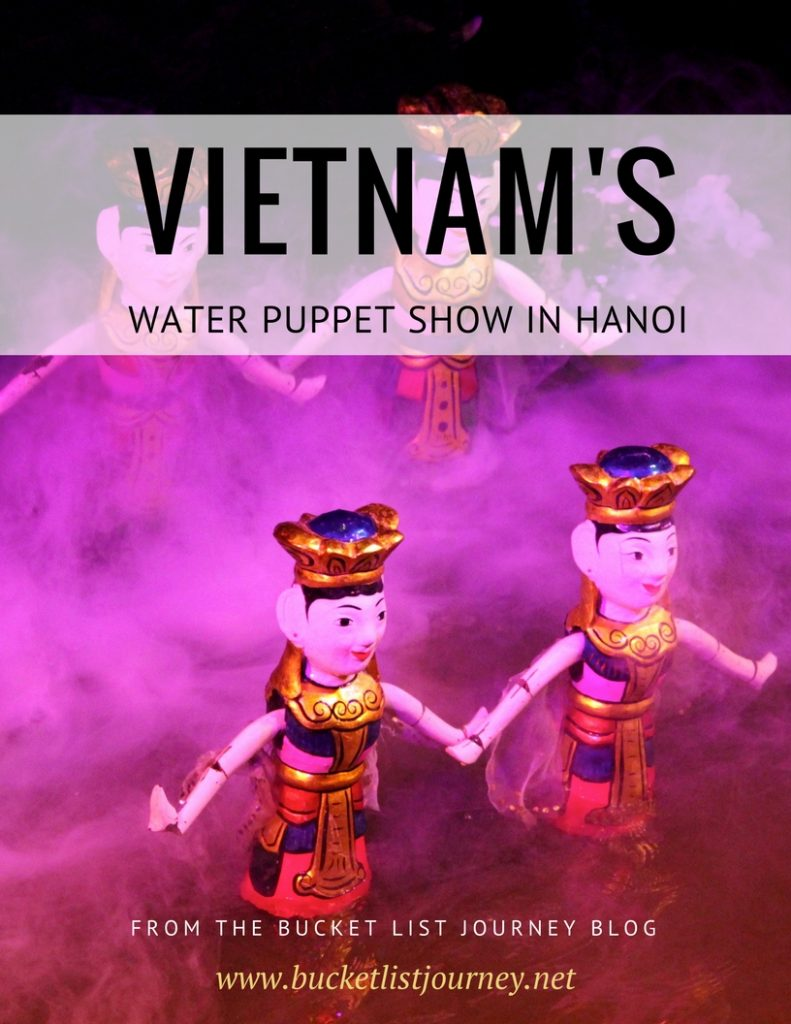 Vietnamese Theatre: The Water Puppet Show in Hanoi: Top Attraction in Vietnam
