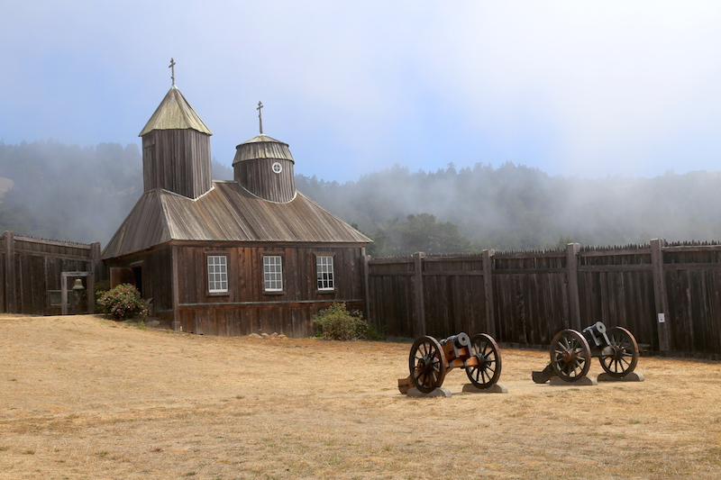 The Old Fort Ross in Sonoma County, Northern California