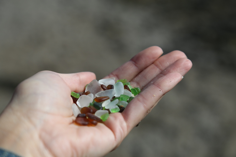 the sea glass beach fort bragg