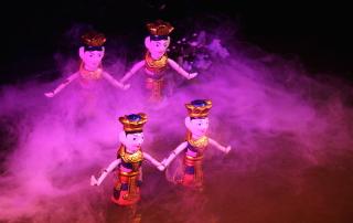 Vietnamese Water Puppet Show in Hanoi, Vietnam