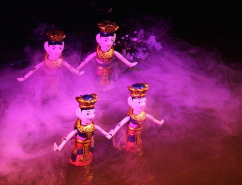 Vietnamese Theatre: A Traditional Water Puppet Show in Hanoi