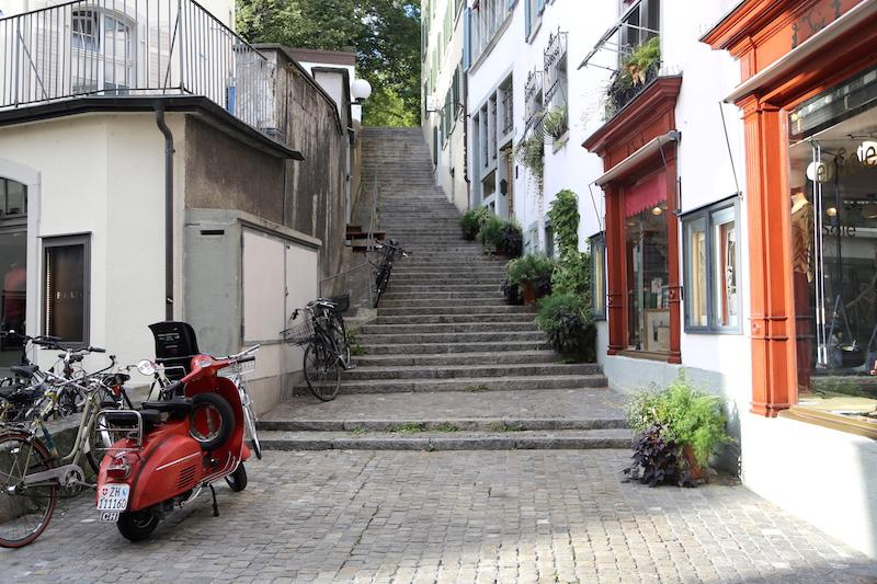 Zurich Old Town Altstadt