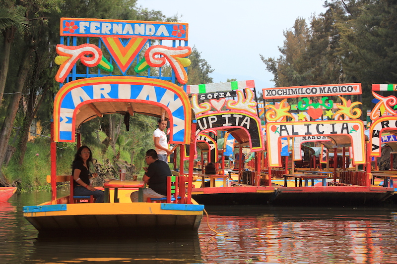 Mexico's Xochimilco Canals: A Guide to Riding on a Trajinera Gondola