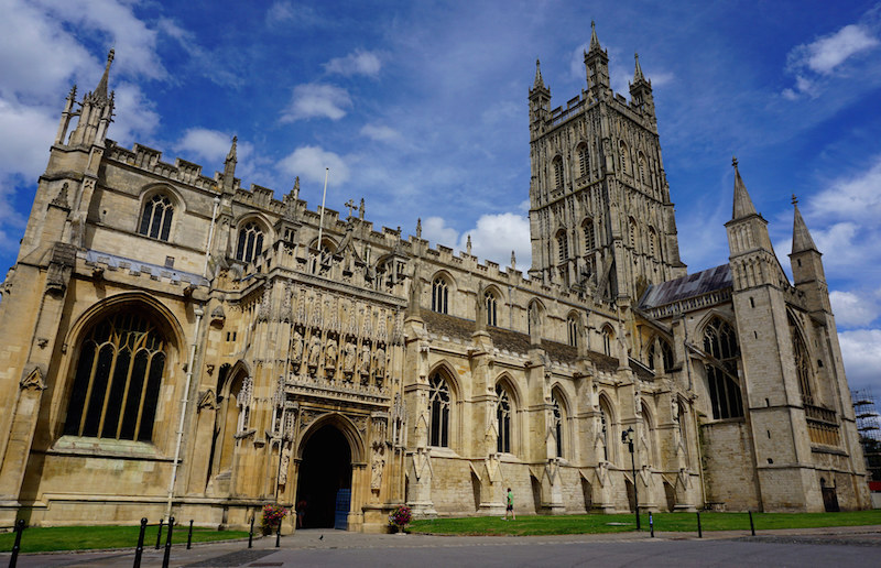 Gloucester Cathedral in the United Kingdom