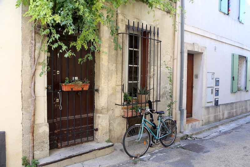 A bicycle in Arles, South of France