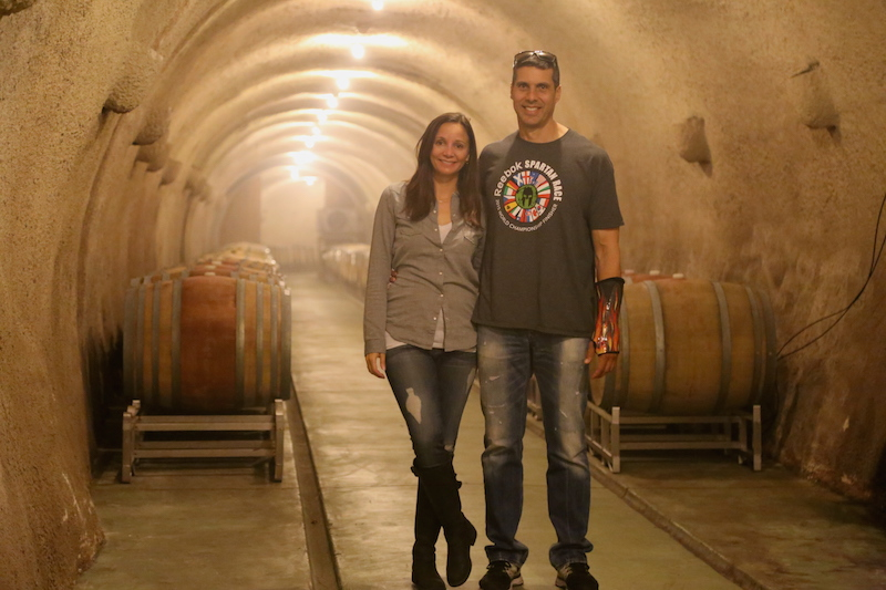 Annette White in the cellar at Keller Estate Vineyards in Petaluma