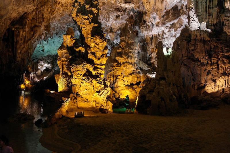 Cave in Vietnam in Southeast Asia