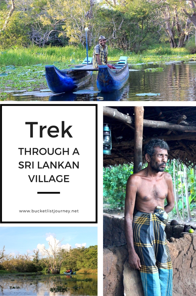 Trek Through a Sri Lankan Village