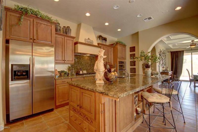 Annette White's kitchen of her Arizona Home