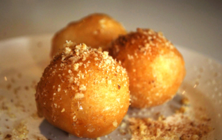 Loukoumades (Greek Donuts) in Greece