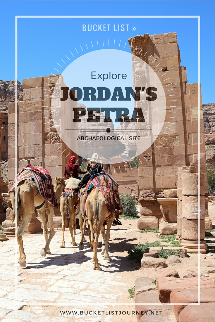 Bucket List: Explore Jordan's Petra Archaeological Site