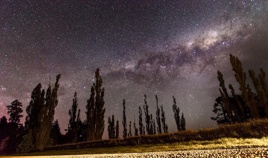 The night sky - stars