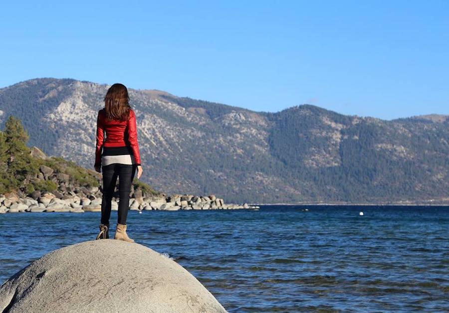 Annette White in Lake Tahoe
