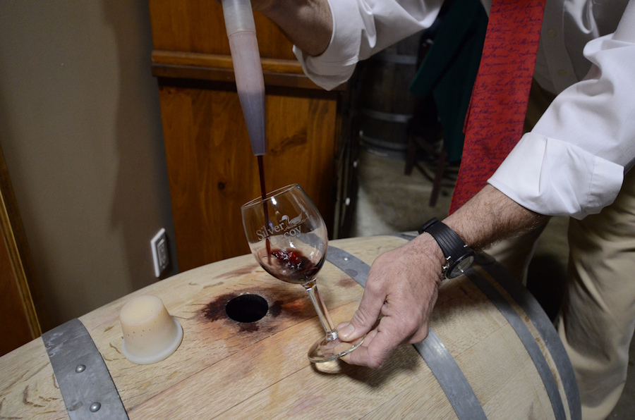 Foodie Bucket List: Barrel Tasting