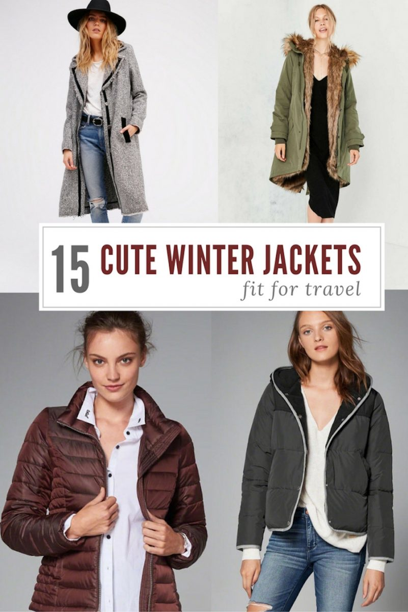 Cute (& Trendy) Winter Jackets Fit for Travel
