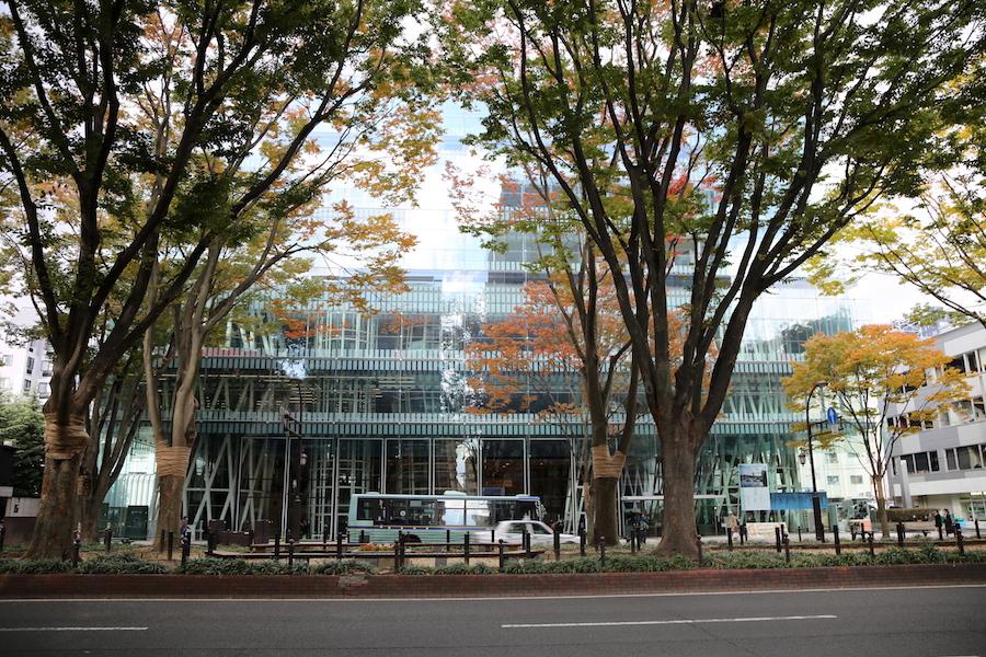 sendai mediatheque in Japan