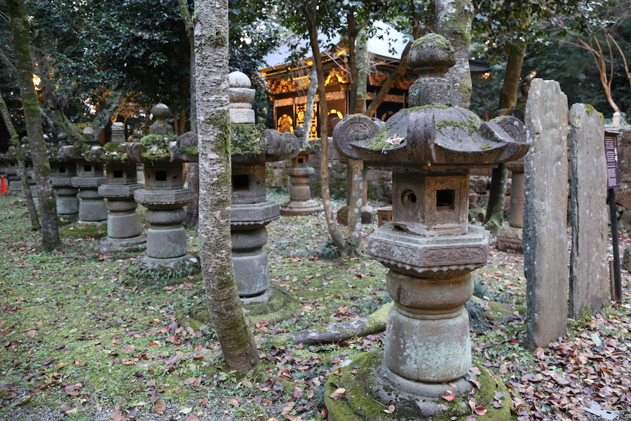 The Zuihoden Mausoleum in Sendai, Japan