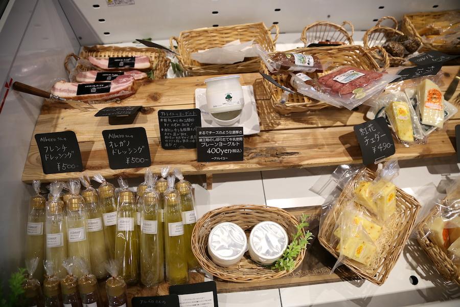 Snacks available at Wine Tasting at Akiu Winery in Sendai, Miyagi