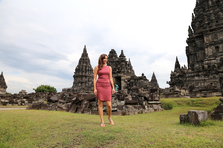 3 sacred indonesian places to visit in yogyakarta with one day annette white at prambanan temple in yogyakarta indonesia stopboris Gallery
