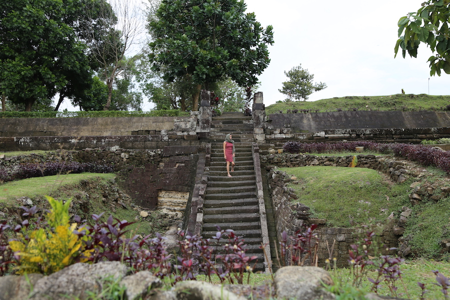 Ratu Boko Temple in Yogyakarta, Indonesia