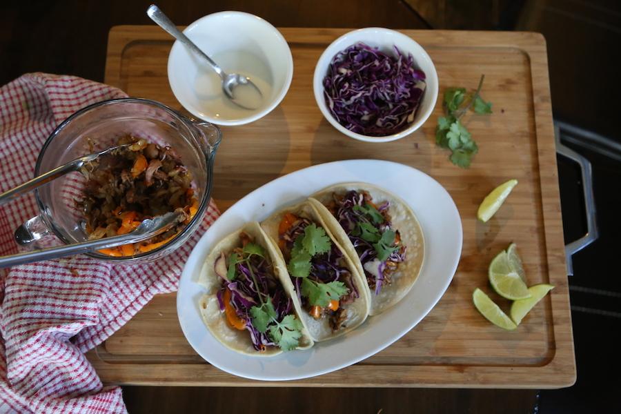 Purple Carrot Jackfruit Tacos