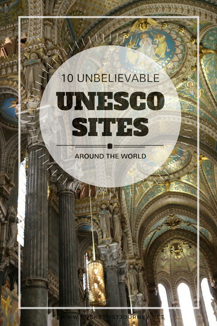 The Best Unesco World Heritage Sites Around the World | USA, Europe, Asia, Jordan, Indonesia, Cuba, Galapagos, Greece and Vietnam